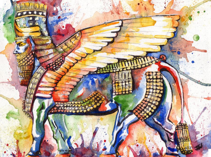 هنر آشوري